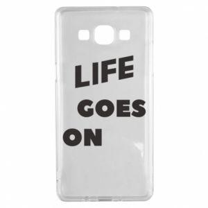 Etui na Samsung A5 2015 Life goes on