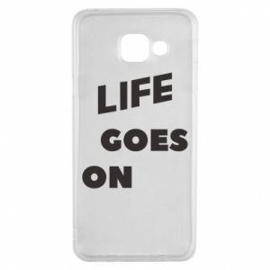 Etui na Samsung A3 2016 Life goes on
