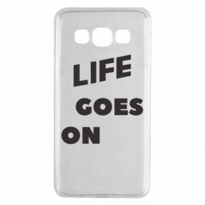 Etui na Samsung A3 2015 Life goes on