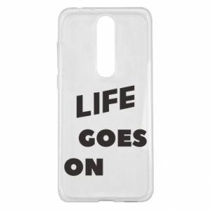 Etui na Nokia 5.1 Plus Life goes on