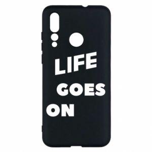 Etui na Huawei Nova 4 Life goes on