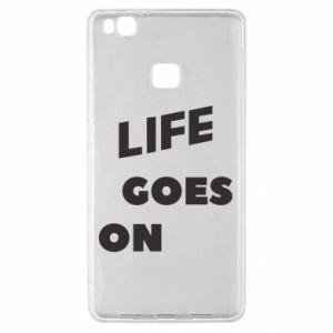 Etui na Huawei P9 Lite Life goes on