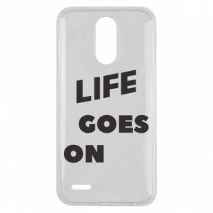 Etui na Lg K10 2017 Life goes on