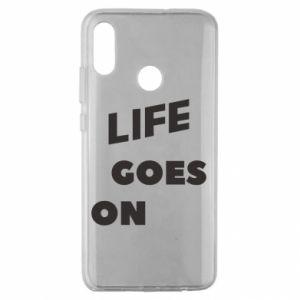 Etui na Huawei Honor 10 Lite Life goes on