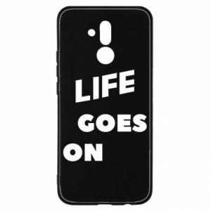 Etui na Huawei Mate 20 Lite Life goes on