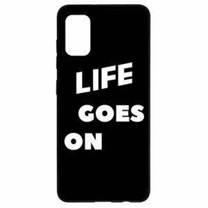 Etui na Samsung A41 Life goes on