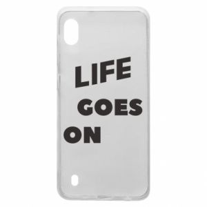 Etui na Samsung A10 Life goes on