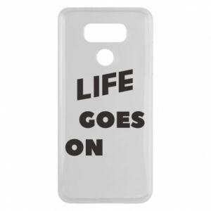 Etui na LG G6 Life goes on