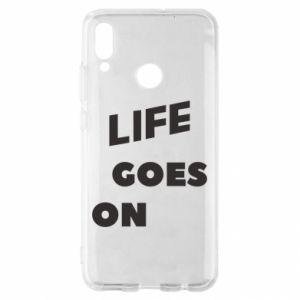 Etui na Huawei P Smart 2019 Life goes on
