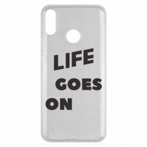 Etui na Huawei Y9 2019 Life goes on