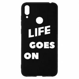 Etui na Huawei Y7 2019 Life goes on