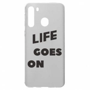 Etui na Samsung A21 Life goes on
