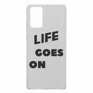 Etui na Samsung Note 20 Life goes on