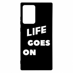 Etui na Samsung Note 20 Ultra Life goes on