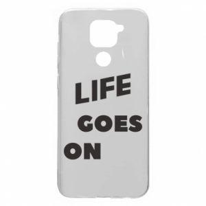 Etui na Xiaomi Redmi Note 9/Redmi 10X Life goes on