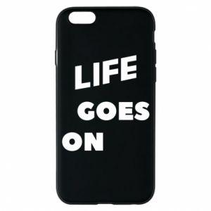 Etui na iPhone 6/6S Life goes on