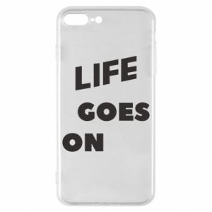 Etui na iPhone 8 Plus Life goes on
