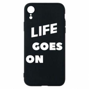 Etui na iPhone XR Life goes on