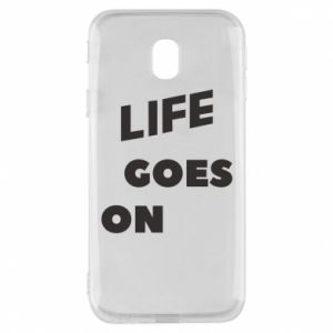 Etui na Samsung J3 2017 Life goes on