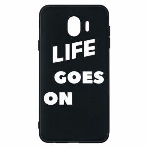 Etui na Samsung J4 Life goes on
