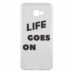 Etui na Samsung J4 Plus 2018 Life goes on