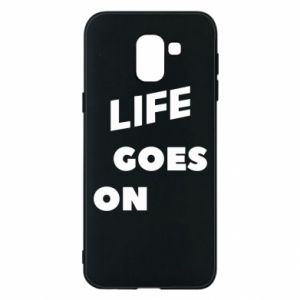 Etui na Samsung J6 Life goes on