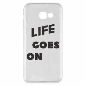 Etui na Samsung A5 2017 Life goes on