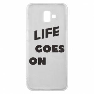 Etui na Samsung J6 Plus 2018 Life goes on