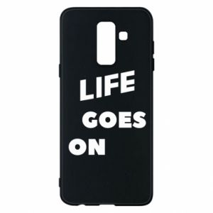 Etui na Samsung A6+ 2018 Life goes on