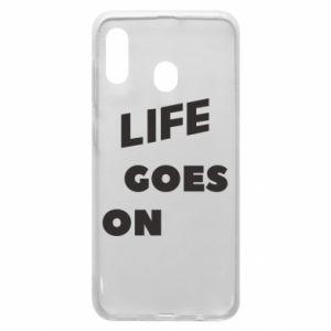 Etui na Samsung A20 Life goes on