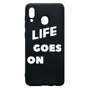 Etui na Samsung A30 Life goes on