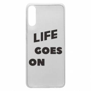 Etui na Samsung A70 Life goes on
