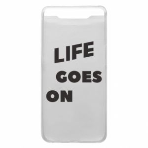 Etui na Samsung A80 Life goes on