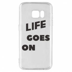 Etui na Samsung S7 Life goes on