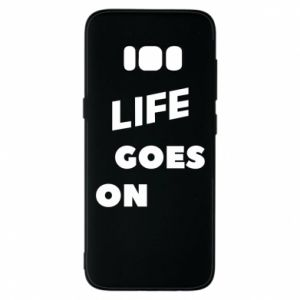Etui na Samsung S8 Life goes on