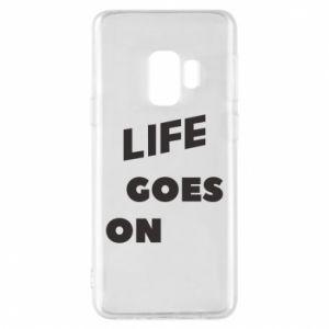 Etui na Samsung S9 Life goes on