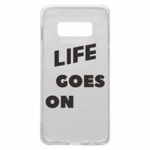 Etui na Samsung S10e Life goes on