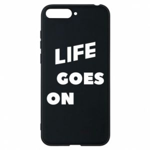 Etui na Huawei Y6 2018 Life goes on