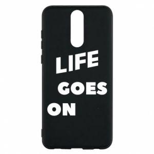 Etui na Huawei Mate 10 Lite Life goes on