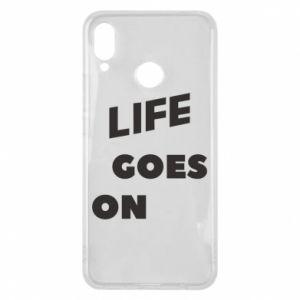 Etui na Huawei P Smart Plus Life goes on