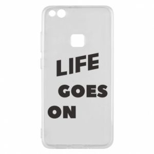 Etui na Huawei P10 Lite Life goes on