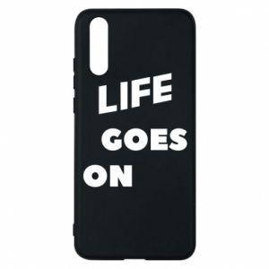 Etui na Huawei P20 Life goes on