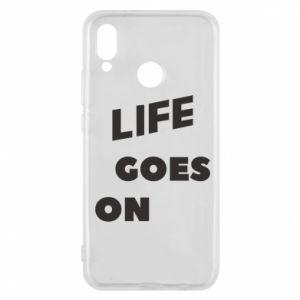 Etui na Huawei P20 Lite Life goes on