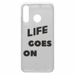Etui na Huawei P30 Lite Life goes on