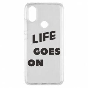 Etui na Xiaomi Mi A2 Life goes on