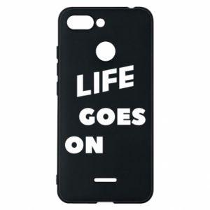 Etui na Xiaomi Redmi 6 Life goes on