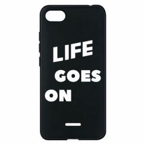 Etui na Xiaomi Redmi 6A Life goes on