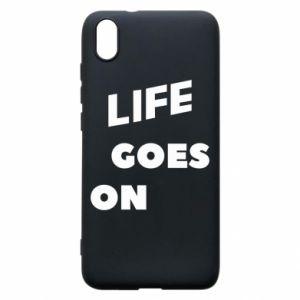 Etui na Xiaomi Redmi 7A Life goes on