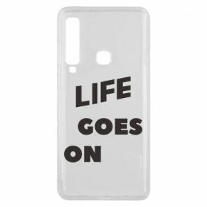 Etui na Samsung A9 2018 Life goes on