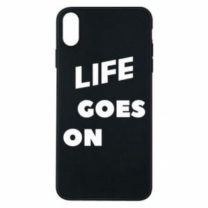 Etui na iPhone Xs Max Life goes on